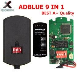 Emulator Adblue Box 9 w 1 Euro 6 aktualizacja Adblue 8 w 1 uniwersalna skrzynka emulacyjna nie wymaga żadnych programów dla ciężarówek Cummins 9