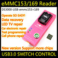 eMMC socket eMMC169 EMMC153 socket USB EMMC Programmer nand flash test Programming Adapter BGA169 BGA153 EMMC socket EMMC adapte