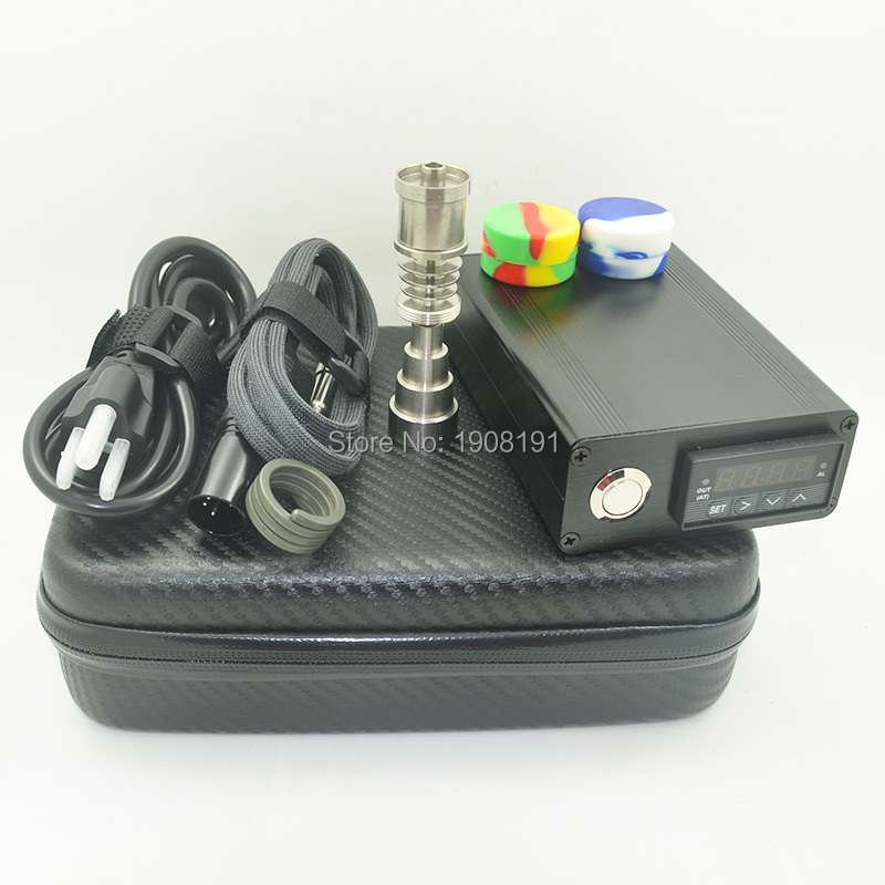 Mini Electric Nail Dab Nail Zipper Kit 110v 220v 100w