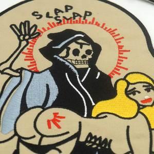 Image 3 - Reapermagic 1% Mc Grote Geborduurde Punk Biker Patches Kleding Stickers Kleding Accessoires Badge