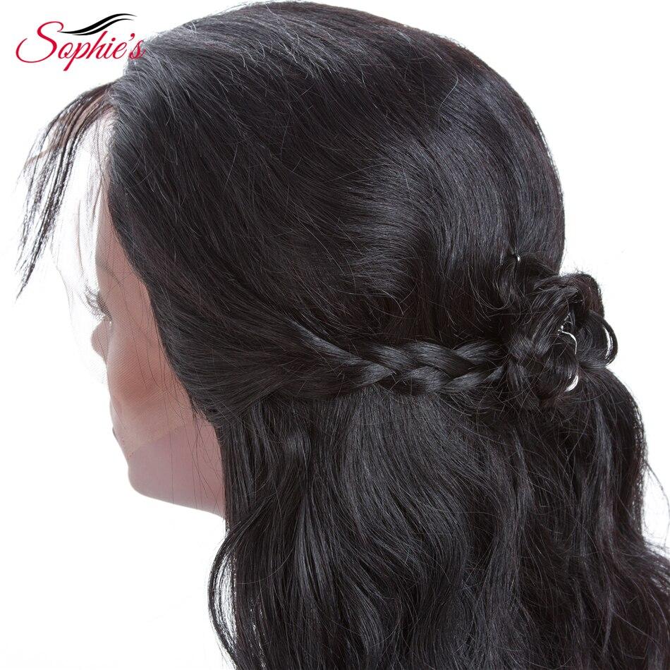 Brasil Lurus Rambut Manusia Renda Depan Wig Wanita 13 * 4 Renda - Pasokan kecantikan - Foto 5