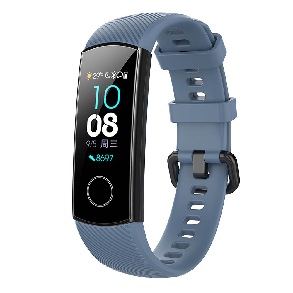 Silicone Wrist Strap For Huawei Honor Band 4 5 Smart Wristband For Honor Band 4 5 Sport Bracelet Watches Straps Accessories Belt