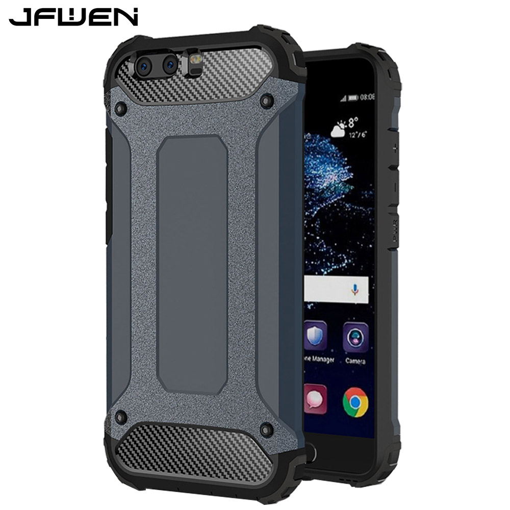 For Funda Huawei P10 Case Armor Hard Mobile Phone Cases For Coque Huawei P10 Case Cover Shockproof Hybrid Protective Back Shell