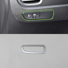 цена на Car Accessories Decoration ABS Interior Head Light Lamp Adjustment Cover Trim For Kia K2/Rio 2017 Car Styling