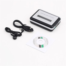 Hot New USB2.0 Portable Tape to PC Super Cassette To MP3 Audio Music CD Digital Player Converter Capture Recorder +Headphone