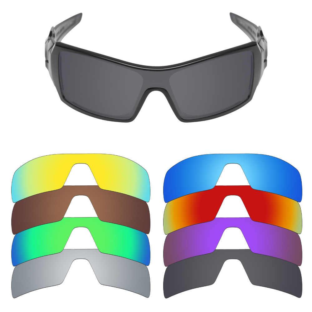 347e8e53df Mryok Polarized Replacement Lenses for Oakley Oil Rig Sunglasses Lenses(Lens  Only) - Multiple