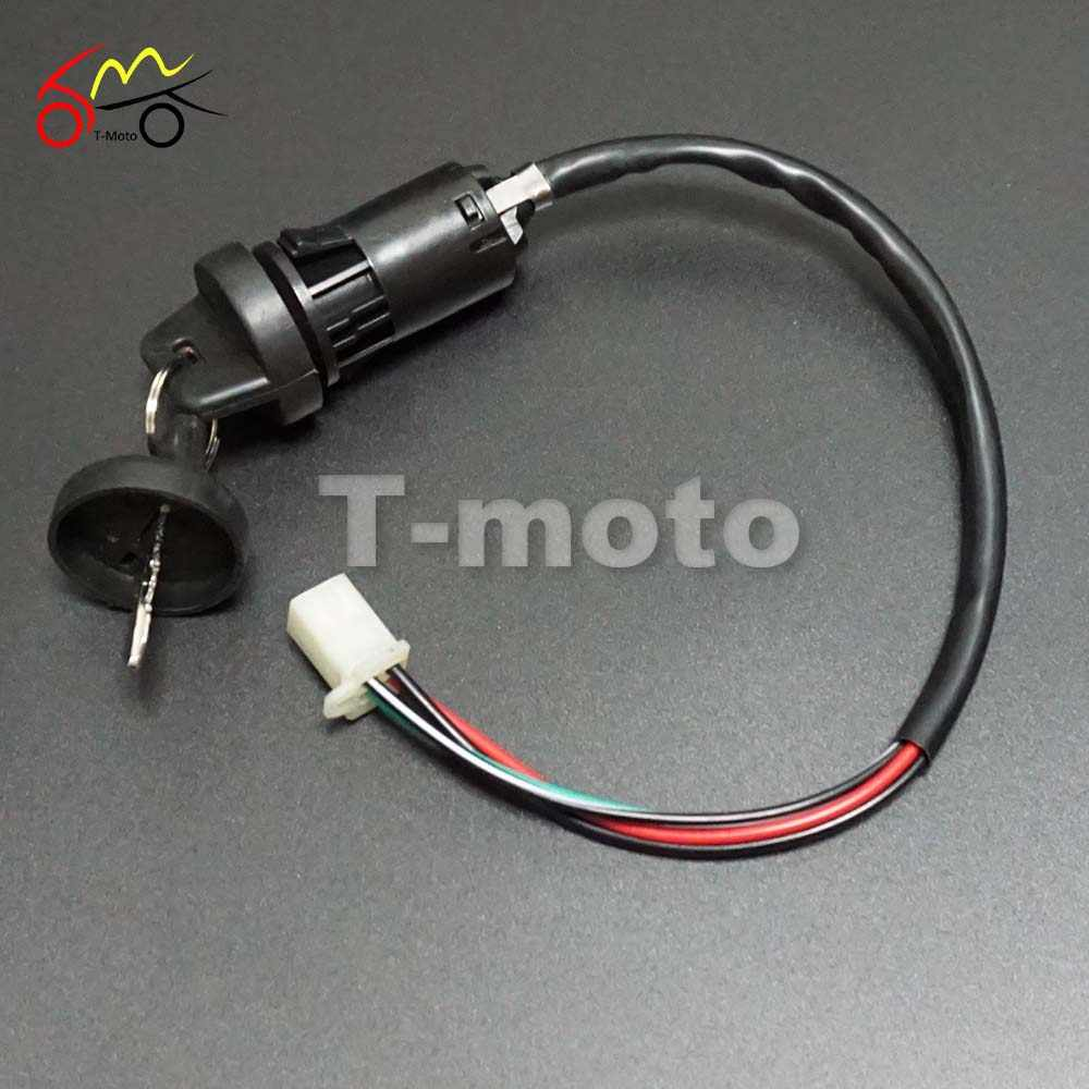 full wiring harness loom ignition coil cdi for 150cc 200cc 250cc 300cc zongshen lifan atv quad  [ 1000 x 1000 Pixel ]