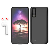 For HUAWEI P20 P20Pro 6000mAh Battery Case Power Bank Protective Charger Charging Phone Cover with Bluetooth Headset