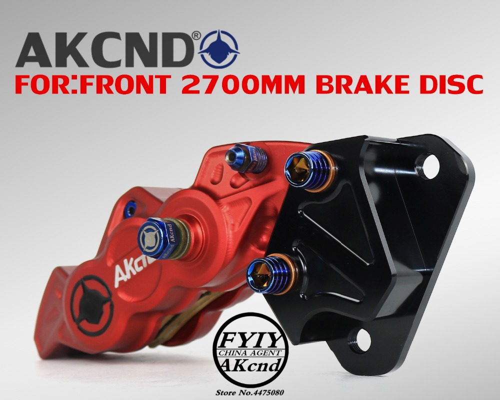 Image 3 - For Yamaha nvx155 aerox155 40mm brake caliper bracket motorcycle modifivation CNC aluminim alloy brake caliper bracket-in Brake Shoe Sets from Automobiles & Motorcycles