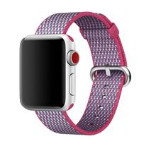 New Woven Nylon Strap for Apple Watch Band Replacement Bands 38mm And 42mm