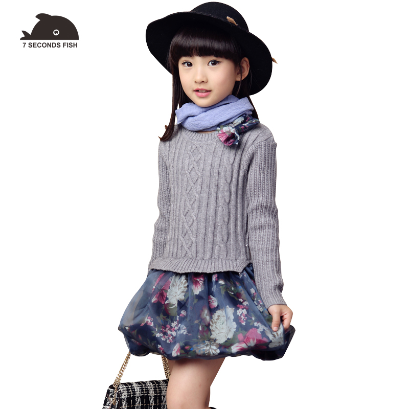 girls sweaters girl cardigan 2018 autumn girl sweater dress long sleeve girls clothes 5 8 10 12 year grey red blue pullovers бра citilux rosa bianco el325w03 1