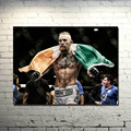 UFC Conor McGregor MMA UFC FIGHT BOXING Silk Poster 13x18 32x43 inch Picture For Living Room Decor -004
