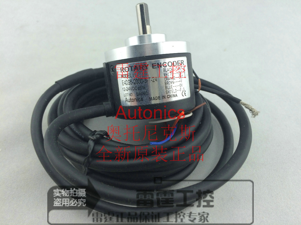 New Autonics incremental rotary encoder E40S6-2000-3-T-24 Pulse 2000P / R