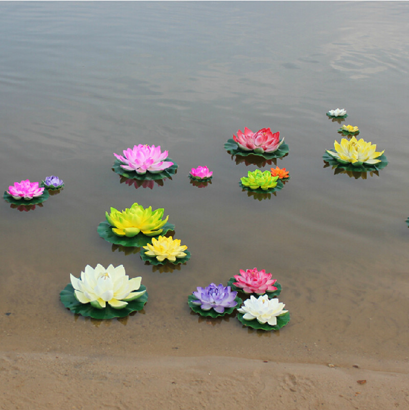 Artificial silk plastic flowers fake bouquet cheap for wedding artificial silk plastic flowers fake bouquet cheap for wedding decoration manualidades mariage flores plants water lily lotus in artificial dried flowers mightylinksfo