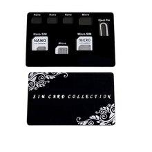 Тонкий SIM держатель для карт и MicroSD чехол для хранения и lphone pin в комплекте