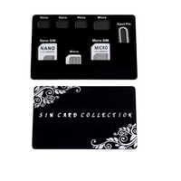 Dünne SIM Karte halter & MicroSD karte Fall Lagerung und lphone pin enthalten