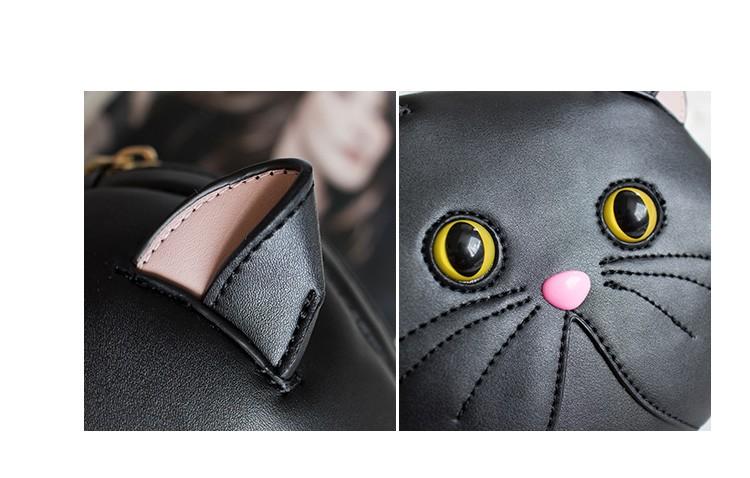 Realistic Cat Face Bag