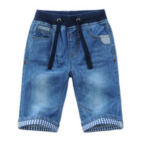 2017 New Kids Boys Denim Shorts Summer Toddler Clothing Boys Casual Solid Soft Cotton Jeans Shorts