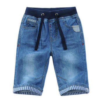 2018 New Kids Boys Denim Shorts Summer Toddler Clothing Boys Casual Solid Soft Cotton Jeans Shorts For Baby Boys 2-13Y DQ301 - Category 🛒 Mother & Kids