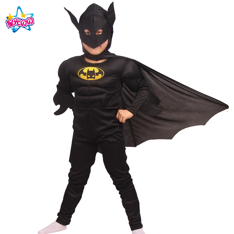 NoEnName Envío gratis Batman Superman hombres Batman Cosply - Disfraces - foto 3