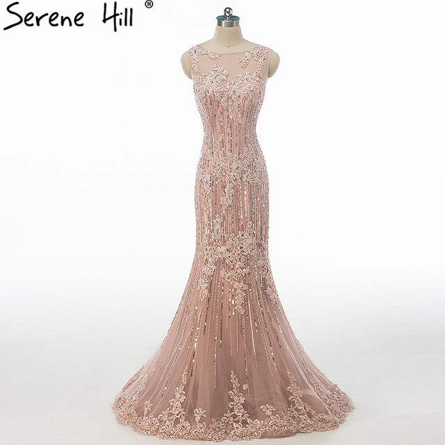 SERENE HILL Sexy Mermaid Evening Dresses 2018 ... 6d9902f279a9