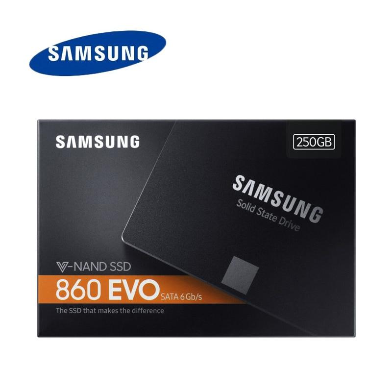 SAMSUNG SSD 860 EVO Internal Solid State Disk 250GB 500GB V NAND Hard Drive 6Gb s