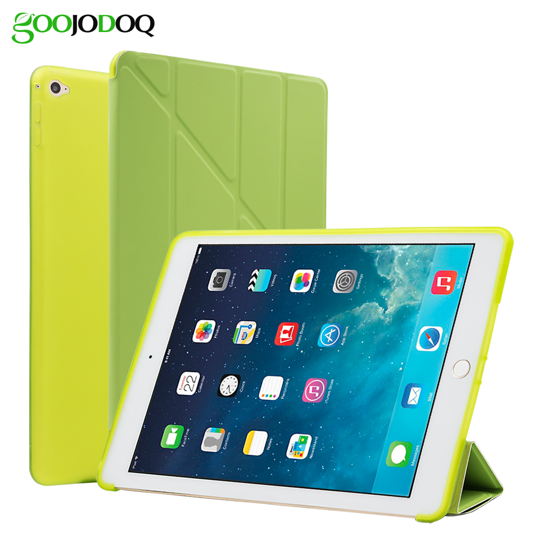 For iPad Mini 4 Case Silicone TPU Soft Back Smart Cover [Multiple Stand] PU Leather Protective Shell For Apple iPad Mini 4