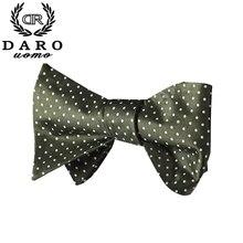 Fashion Polka Dot Men Bow Tie Handkerchief Set Adjustable Woven Jacquard Self Bow Tie Bowtie Wedding Party gravata borboleta–7