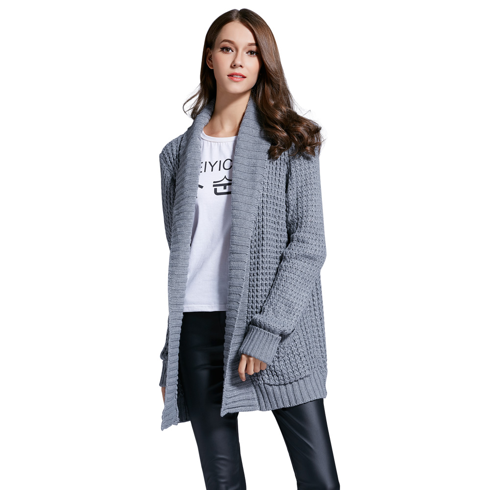 Aliexpress.com : Buy Kenancy Turn Down Collar Cardigan