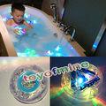 Свет ванна свет игрушка Партия в Ванне Игрушки Водяной Бане Свет Дети Водонепроницаемый детей смешно время