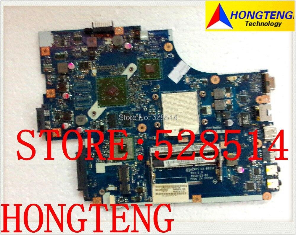 original For ACER ASPIRE 5551/5552 LAPTOP Motherboard MBWVE02001 LA-5911P 100% fully tested