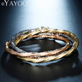 AYAYOO Party Vintage Bracelets Bangles Jewelry For Women Luxury Charm African Dubai Gold Plated Bridal Wedding Gift Accessories