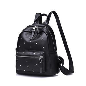 YLLS Black Women s Backpack Casual School Bag Mochila d3c4c8153106e