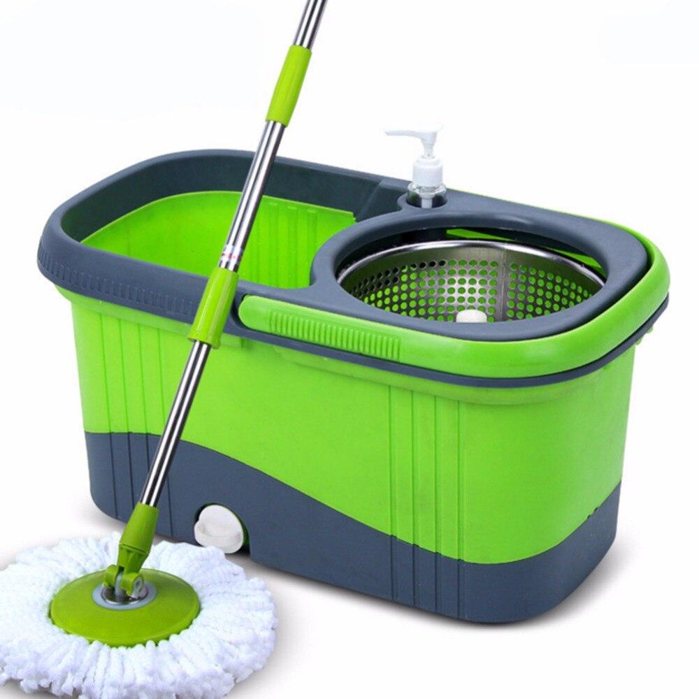 Housekeeping mop bucket extra tall soap dispenser