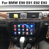 LEEWA 9 Bigger HD Screen Android 8.1 Quad Core Car Media Player With GPS Navi Radio For BMW 318i 320i 325i E90 E91 E92 E93
