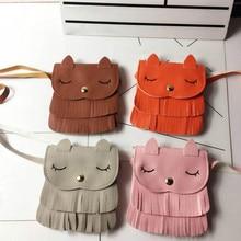 2018 New Women Cute Pattern Tassel Bags Shoulder Bag Ladies Cute Messenger Bags Master Designer Handbags