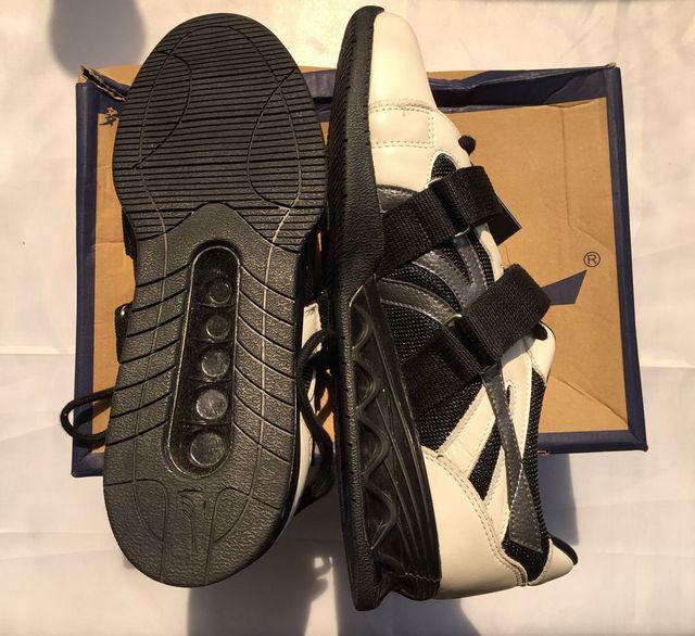 € 87.36 |Professionnel En Cuir Véritable Chaussure D'haltérophilie Squat Musculation Chaussures Pour Homme Et Femme Chaussures D'haltérophilie dans