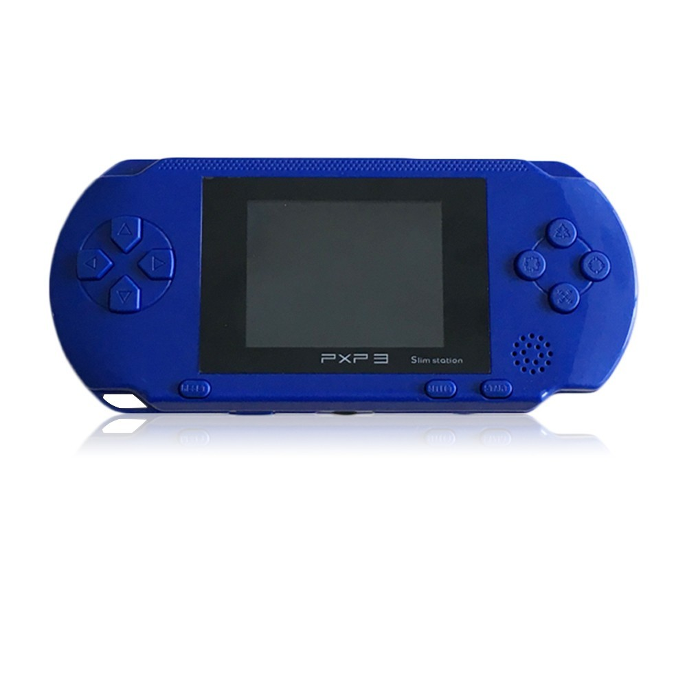 3 Inch 16 Bit PXP3 Slim Station Video Games Player Handheld Game +2pcs Game Card Console built-in 999999 Classic Games New 16 5