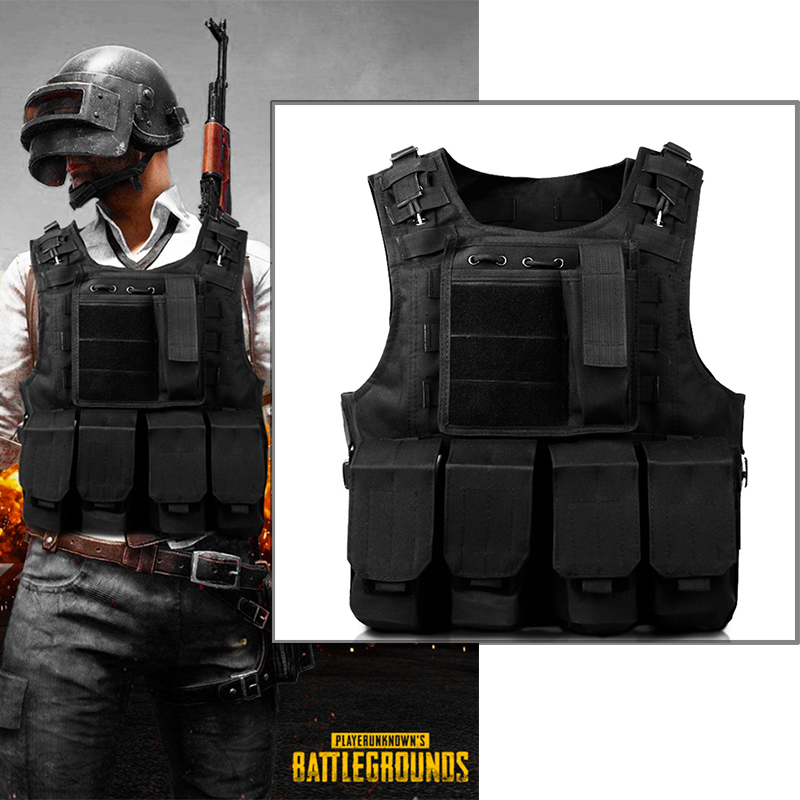Game Playerunknown's Battlegrounds Eat chicken Cosplay Costume Halloweeen Carnival Packs PUBG Special Forces Vest