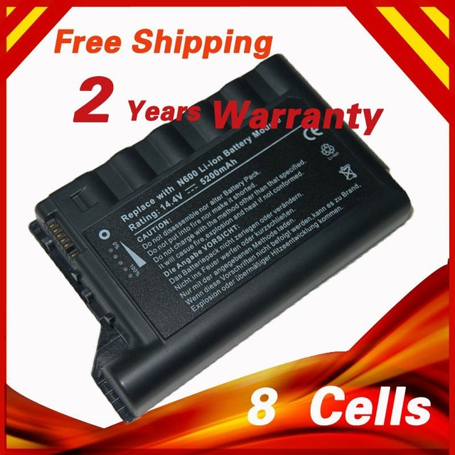 8 cells 14.8V Laptop Battery For HP for Compaq  Evo N600 N600C N610C N610V N620C 229783-001 232633-001 250848-B25 PP2040 PP2041F