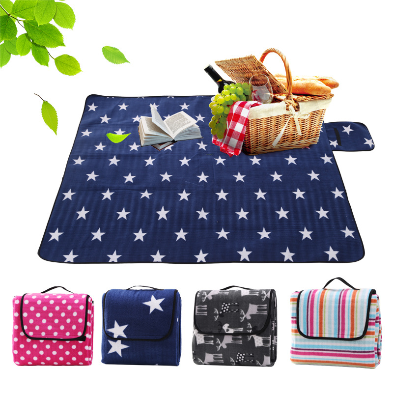 Outdoor camping mat picnic blanket foldable baby climb for Picnic blanket coloring page