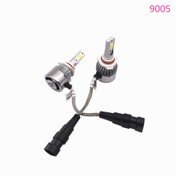 2X Car LED Headlight Bulbs High beam 9005 HB3 Auto Headlamp for Toyota Sienna 2009-2015 for for Subaru XV 2012-2016 image