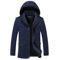 New Winter Large Size Men Jacket Warm Jacket Man S Coat Autumn Cotton Parka Outdoors Coat