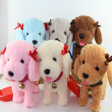 Funny Electronic Dog Pet Singing Walking Musical Plush Pet Robot Dog Toy Educational Toys For Children Birthday Gifts(China)