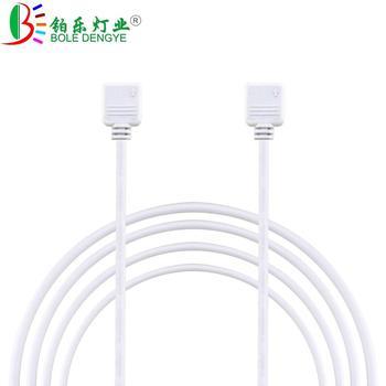Biały czarny 4PIN przedłużacz RGB 1M 2M 3M 5M 10M DC 12V kabel do 3528 5050 listwy RGB led Light tanie i dobre opinie rgb extension cable Elektroniki użytkowej Nema DC 12V RGB Extension cable White Black 0 3m 1am 2m 3m 5m 10m RGB RGBW LED Strip