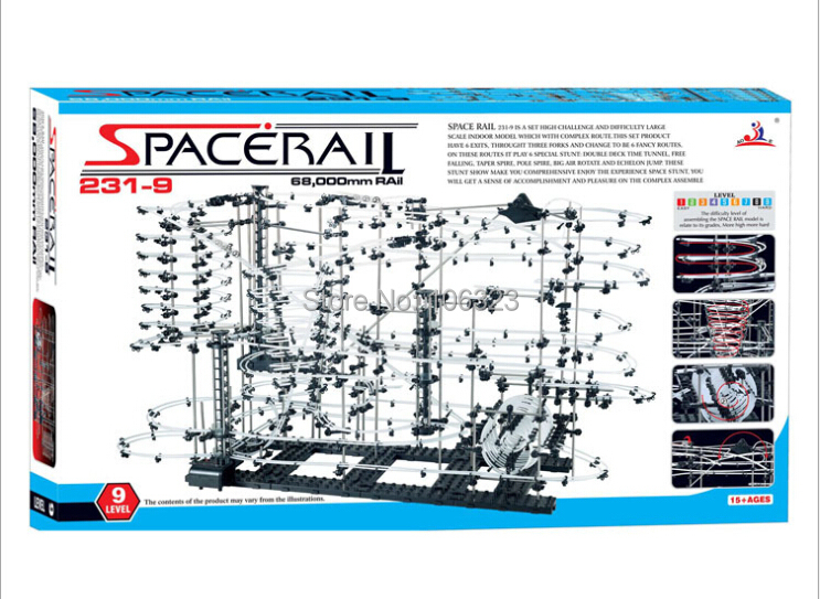 ФОТО Toy Roller Coaster, Space Rail Level 9, Space rail Warp Drive, Highest Warp Factor, Physics Novelty intelligence develop toys
