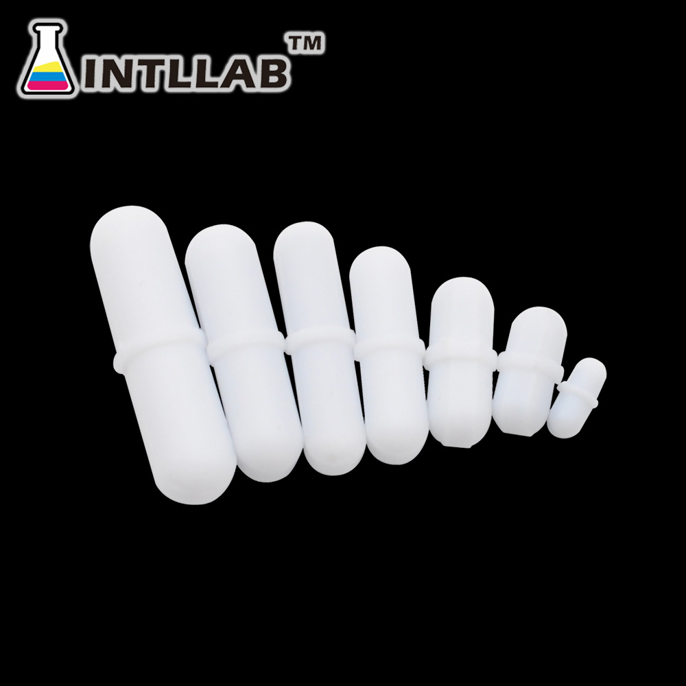 7pcs/Pack Mixed Size Stir Bar PTFE Magnetic Stirrer Mixer Stir Bars