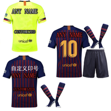 e1a27778 The European 2018-19 New Men's Customized Name Numbers Soccer Jerseys Top  AAA Quality Football
