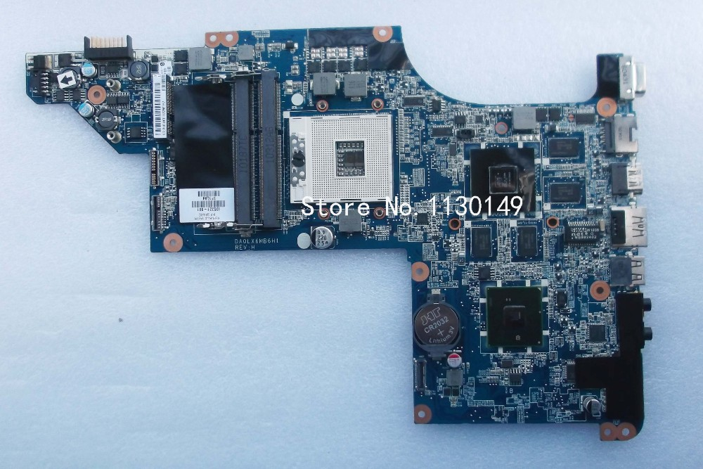 615308-001 Free Shipping for HP DV7 dv7-4000 laptop motherboard DA0LX6MB6I0 DA0LX6MB6H1, tested 100% working