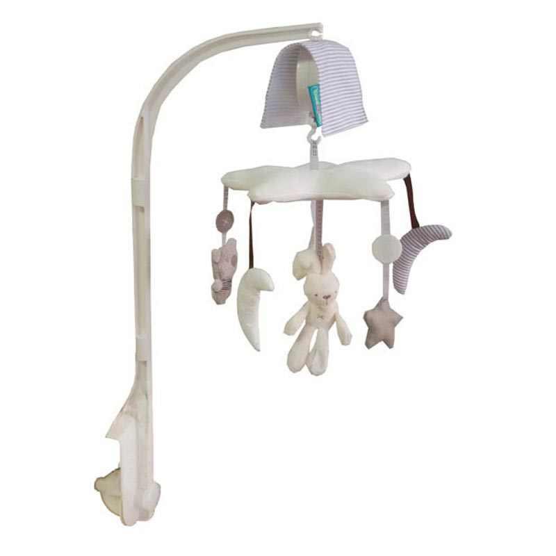 Детская кроватка музыкальный мобильный подвесной колокольчик Музыкальная шкатулка с держателем рука детская кровать висячая погремушка игрушки подарок для новорожденных обучение и образование